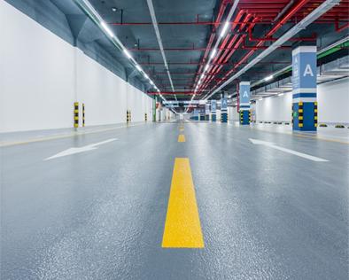 环氧橘纹面防滑地坪系统